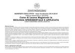 manifesto - Facoltà di Scienze MFN - Università degli Studi di Sassari