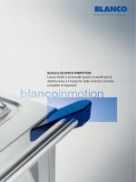 Sistema BLANCO INMOTION: Lavoro facile e funzionale