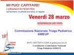 Commissione Nazionale Triage Pediatrico SIMEUP, DOTT