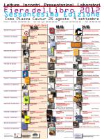 Fiera del Libro 2012 - Associazione Culturale Crea