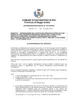 scarica il bando - Comune di San Martino in Rio