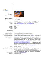 CV Lucia Martinelli maggio 2014 English - MUSE