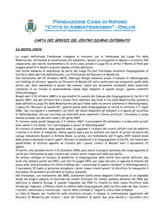 Carta Servizi CDI