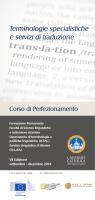 brochure - Centri di Ricerca - Università Cattolica del Sacro Cuore