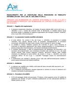 Regolamento mobilità 10.02.2014