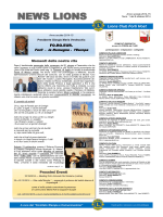 NEWS LIONS - Lions Club Forlì Host