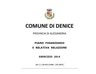 B DEL 12 2014 relazione_pef_TARI_2014