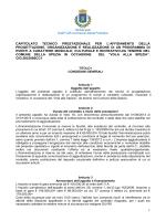 SUAP CdR Commercio Attività Produttive 1 CAPITOLATO TECNICO