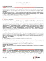 Regolamento + Tariffario 2014