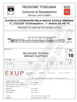 PROGETTO IMPIANTO ELETTRICO Relazione tecnica