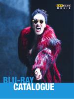 BLU-RAY CATALOGUE