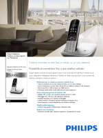 S8A/34 Philips Telefono cordless digitale con MobileLink