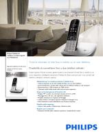 S8A/34 Philips Telefono cordless digitale con MobileLink