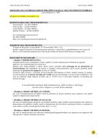 DOMANDA DI AUTORIZZAZIONE PER SPETTACOLI E