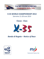 nor world x-35 - Yacht Club Sanremo