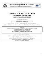 BANDO CTF 14- 15 - Università degli Studi di Ferrara