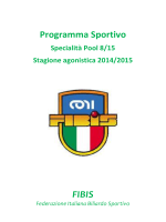 Programma Sportivo FIBIS