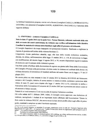 Delibera del 13/3/2014 del CSM (pdf)