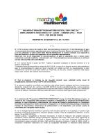 INCARICO PROGETTAZIONE ESECUTIVA, CSP CSE, DL