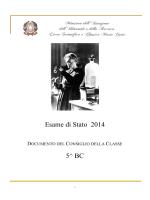 """Esame di Stato 2014 5^ BC - Liceo Scientifico e Classico """"Marie Curie"""""""