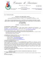 . CIG [6064033655] 1 - Comune di Bucciano
