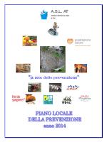 piano locale della prevenzione 2014