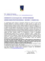 FIS – Settore Formazione - Federazione Italiana Scherma