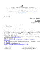 ISTITUTO COMPRENSIVO SCOLASTICO STATALE