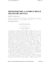 Decreto interministeriale 14 febbraio 2014