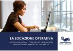 LA LOCAZIONE OPERATIVA - Arredamento ufficio Udine DBL