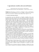 apprendimento scientifico def