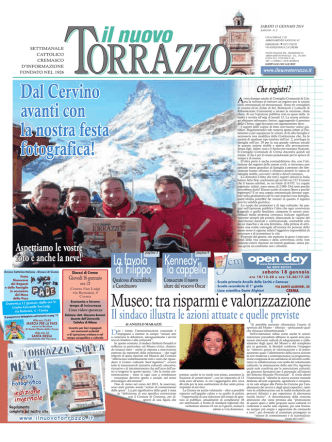 11/01/2014 - Il Nuovo Torrazzo