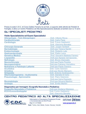 Asti - Gruppo CDC