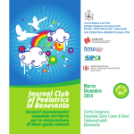 Programma Journal Club of Pediatrics in Benevento
