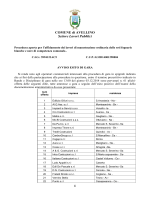 Esito - Comune di Avellino