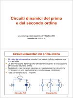 Circuiti dinamici del primo e del secondo ordine