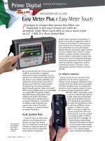 Easy Meter Plus e Easy Meter Touch