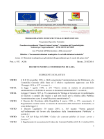 Prot. n. 932 /A20h Bronte, 21/02/2014 DECRETO NOMINA