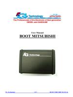 BOOT MITSUBISHI