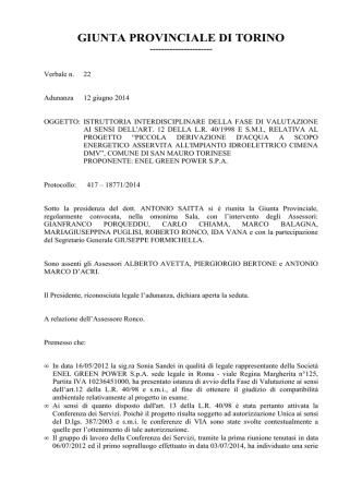 417-18771/2014 - Provincia di Torino