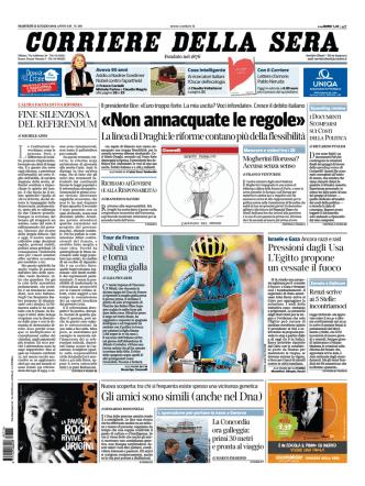 Corriere della sera - 15.07.2014
