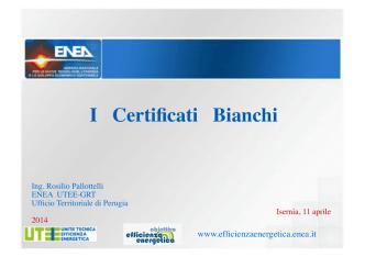 Certificati Bianchi 11APR2014.pps