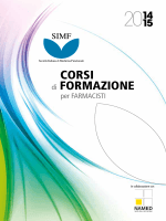 CORSI di FORMAZIONE - Società Italiana Medicina Funzionale