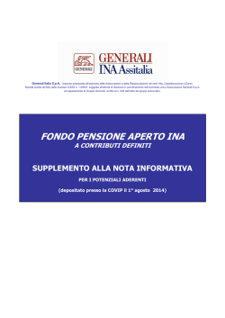 FPA INA- Supplemento 01-08-2014