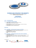 EUROPE 2020 STRATEGY FOR GROWTH
