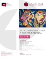 Galleria Pace - Catalogo PDF Asta 116