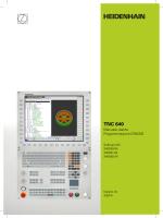TNC 640 - Manuale utente Programmazione DIN/ISO
