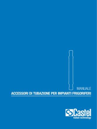 accessori di tubazione per impianti frigoriferi manuale