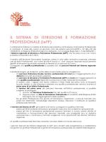 Il nuovo sistema IeFP 2014-2015