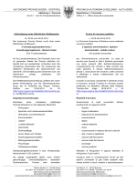 autonome provinz bozen - südtirol provincia autonoma